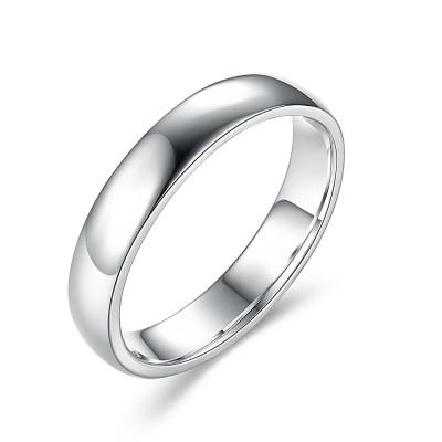 Schlichte 925 Sterling Silber Damen Memoire Ringe