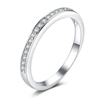 Zirkonia geSchliffen 925 Sterling Silber BirthZirkonia Ringe