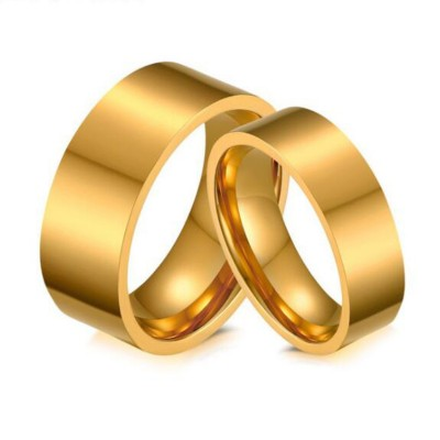 Gelbgold Titan Versprechen Paarringe