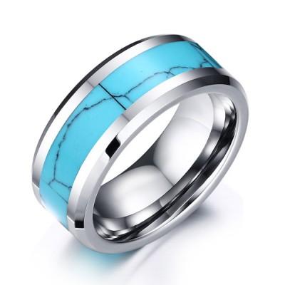 Tungsten Silber Special Herrenring