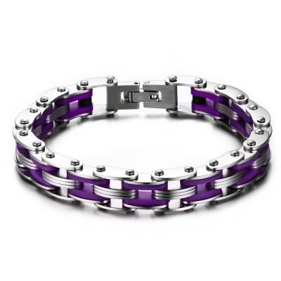 Silber und Regency Kette Design 925 Sterling Silber Armbänder