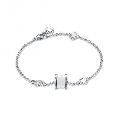 Weißemer Spezialanhänger S925 Sterling Silber Armbänders