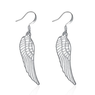 Fashion Wing Design S925 Sterling Silber Ohrring