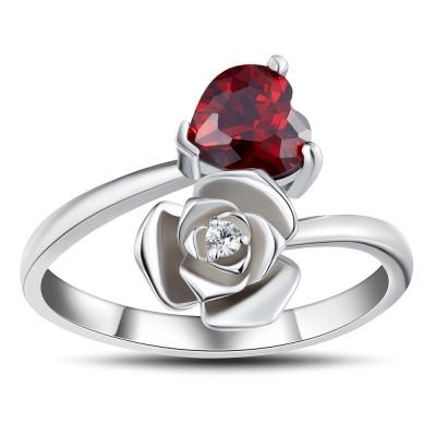925 Sterling Silber 925 Sterling Silber Versprechen Ringe für Sie