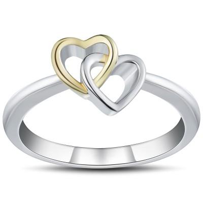 Romantische 925 Sterling Silber Versprechen Ringe für Sie