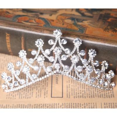 Helle tschechische RhineZirkonias Hochzeit Headpieces