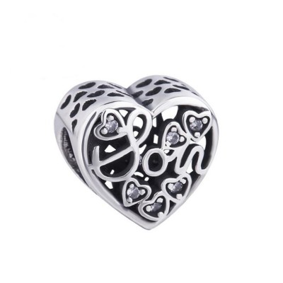 Mutter & Sohn Charm Sterling Silber
