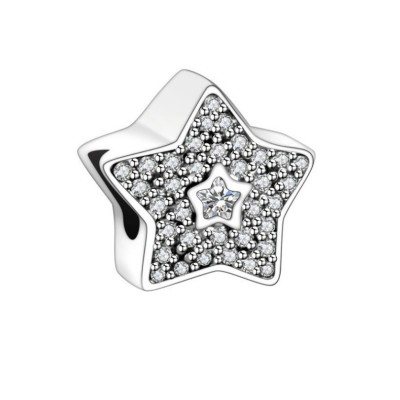 Sterne Charm Sterling Silber