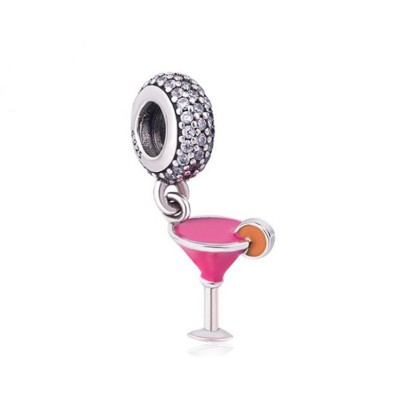Cocktail Charm Sterling Silber