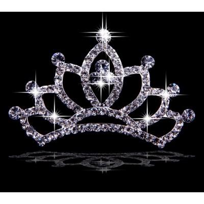 Anmutige Legierung mit tschechischen RhineZirkonias Hochzeits-Kopfbedeckungen