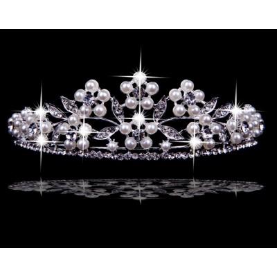 Sehr erstaunliche tschechische RhineZirkonia-Perlen die Kopfbedeckungen heiraten