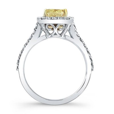Strahlenden Schliff Topas 925 Sterling Silber Halo Verlobungsring