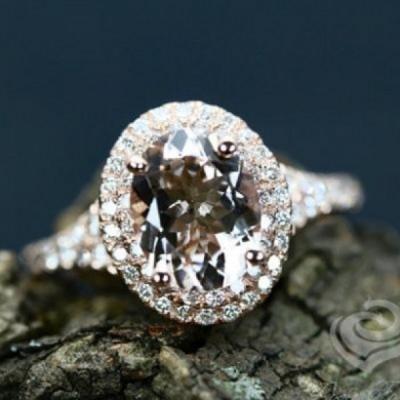 Ovale Schliff Peridot Weißem Saphir 925 Sterling Silber Halo Geburtsstein Ringe