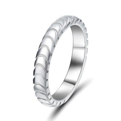 Elegante 925 Sterling Silber Damen Memoire Ringe