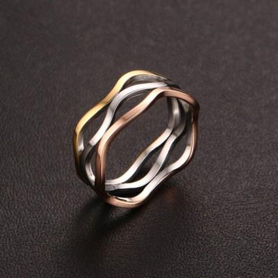 Titan Silber Gelbgold RoséGelbgold Versprechen Ringe Für Sie
