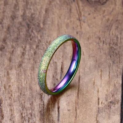 Titan Farbedel Versprechen Ringe für Sie
