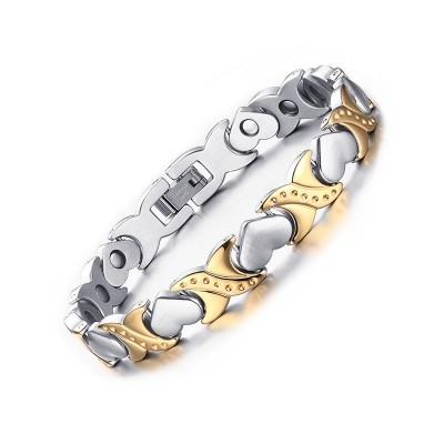 Silber und Gelbgold 925 Sterling Silber Armbänder