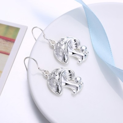 Schöne Pilze S925 Sterling Silber OhrRingee