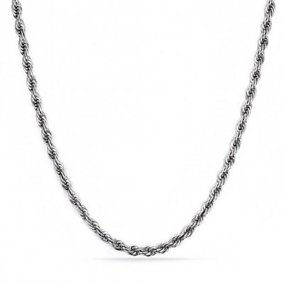 Silberfarbene Titanketten