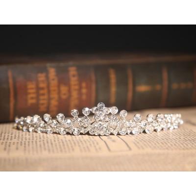 Erstaunliche Legierung klare Kristalle Hochzeit Kopfschmuck