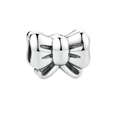 Bowknot Charm Sterling Silber