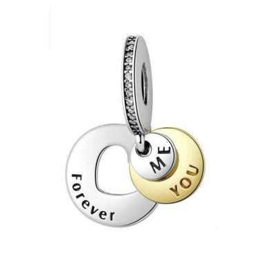 Für immer Charm Sterling Silber
