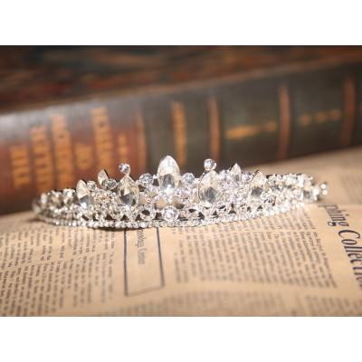 Charmante Legierung klare Kristalle Hochzeit Kopfschmuck