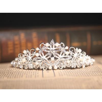 Nizza Legierung klare Kristalle Perlen Hochzeit Kopfschmuck