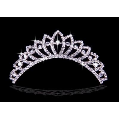 Atemberaubende Legierung mit tschechischen RhineZirkonias Hochzeits-Kopfbedeckungen